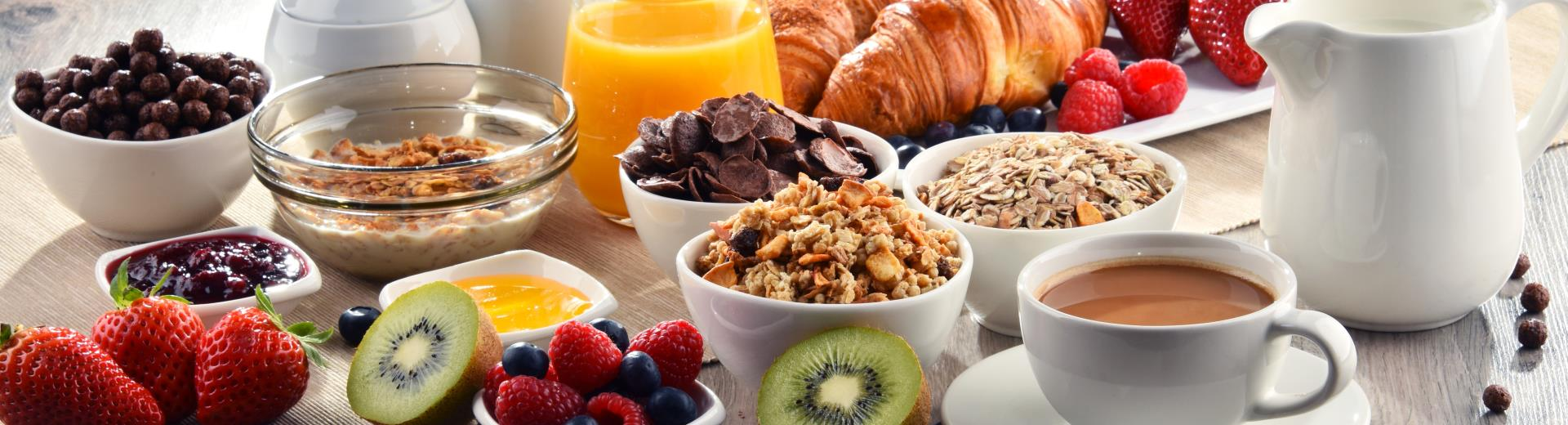 Free breakfast for Gold, Platinum, Diamond and Diamond Select BWR members