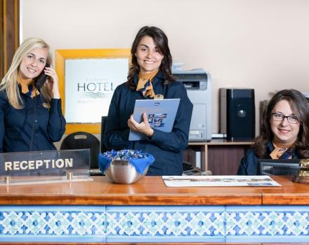 The Best Western Hotel Mediterraneo is open 24 hours on 24 to give you all the information about your stay in Catania