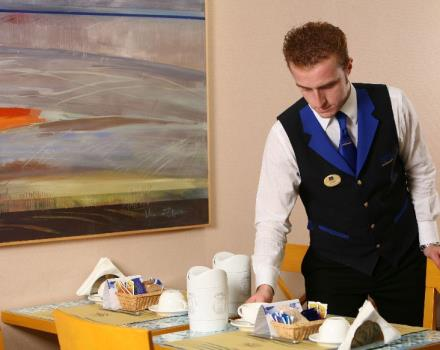 Enjoy the rich breakfast buffet at the Best Western Hotel Mediterraneo, with typical Sicilian products