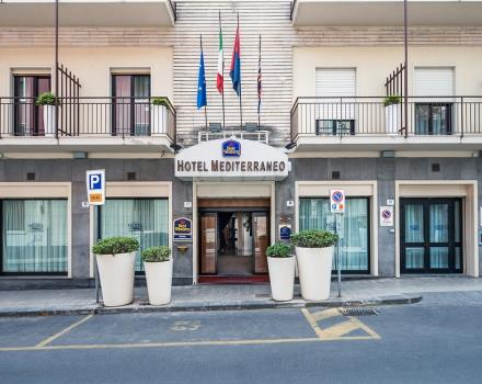BEST WESTERN Hotel Mediterraneo, Catania 3 star hotel just minutes from the city centre, offers many facilities for an unforgettable stay