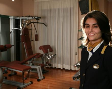 Among the services offered by Best Western Hotel Mediterraneo, Catania, a fitness room for guests