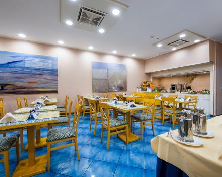 Best Western Hotel Mediterraneo, Catania, 3-star hotel offers a rich breakfast buffet with products for Celiacs